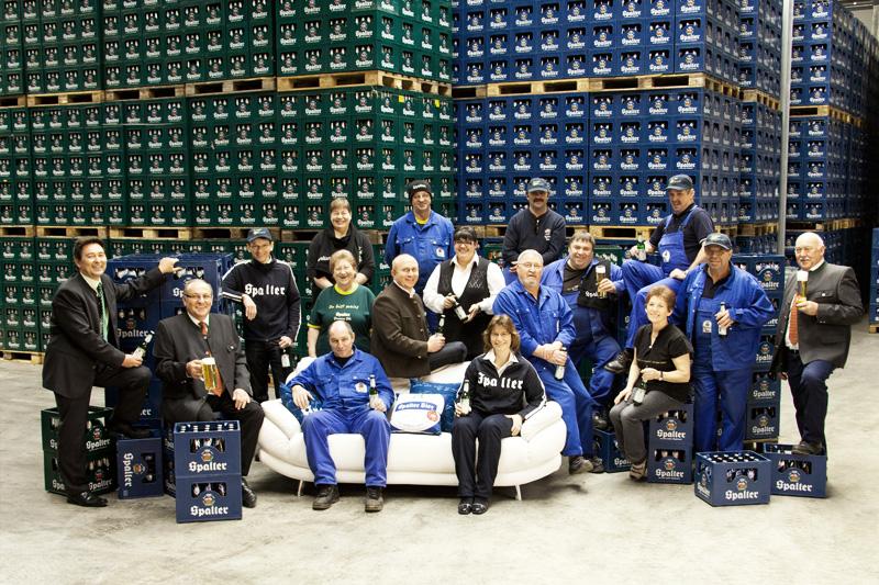 Mitarbeiter Brauerei Spalt