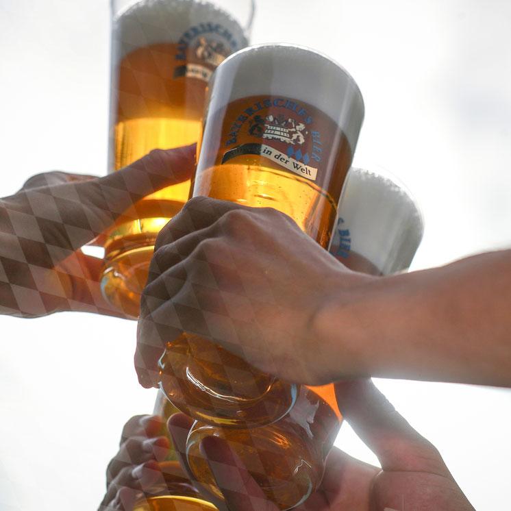 Helle Biere aus Bayern