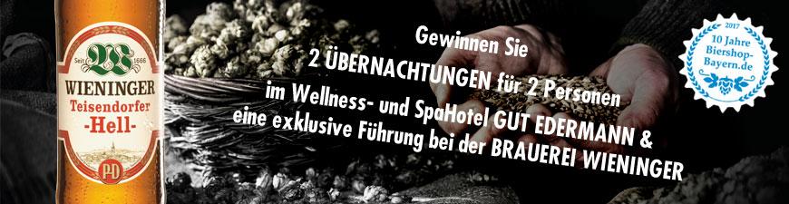 Wieninger Brauerei und 10 Jahre Biershop Bayern