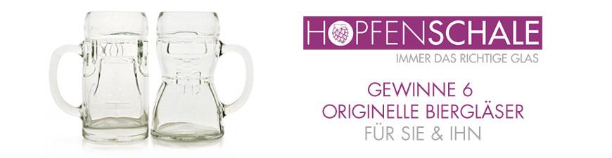 Hopfenschale.de der neue Online-Shop für Gläser