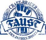 Faust - Craftbrauer des Jahres 2017